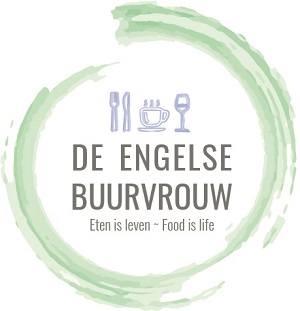 de engelse buurvrouw main logo food blog