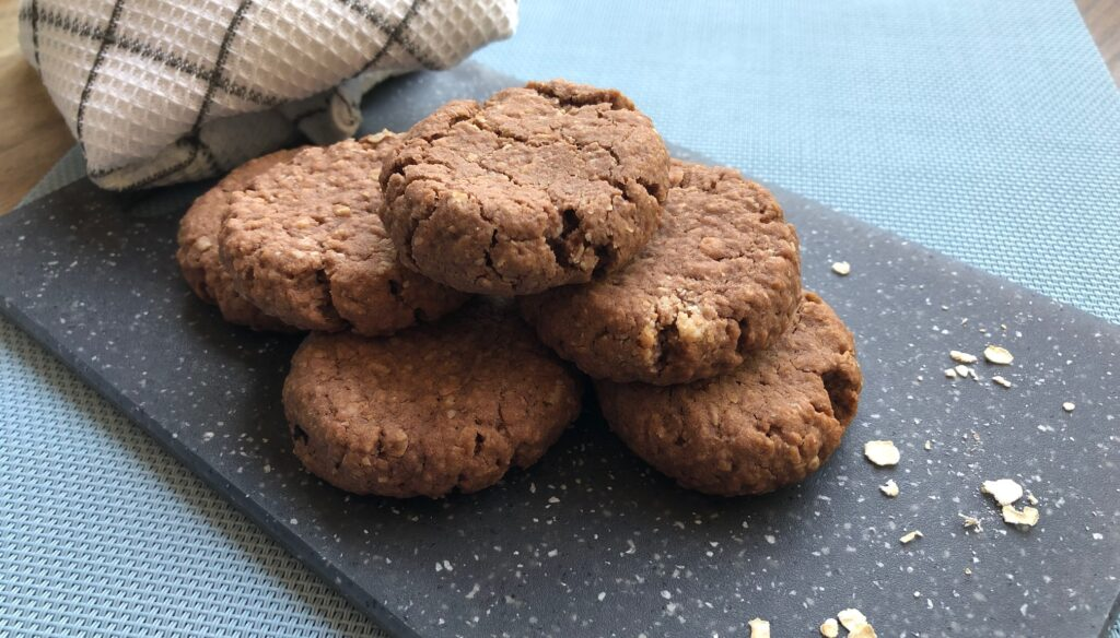 recipe recept chocolate oatmeal cookies chocolade havermout koekjes